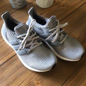 Gray UltraBoost Size 7.5